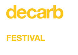 Decarb Connect | Festival Logo White